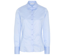 LANGARM BLUSE MODERN CLASSIC COVER SHIRT TWILL HELL