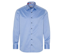 LANGARM HEMD COMFORT FIT GENTLE SHIRT TWILL