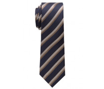 Krawatte Braun Gestreift