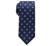 Krawatte Blau Gemustert