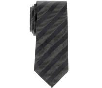 Krawatte Schwarz Gestreift
