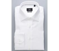 Modern FIT Langarmhemd Premium weiss