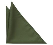 Einstecktuch Jägergrün Unifarben
