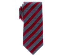 Krawatte rot gestreift