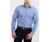 Slim FIT Langarmhemd jeansblau