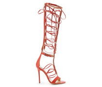 Gladiatoren-Sandalen mit Absatz