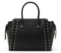 Handtasche mit Schnüren