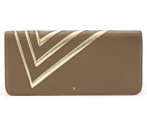 Unterarmtasche mit geometrischem Motiv