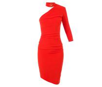 Einschultriges asymmetrisches Kleid