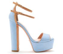Sandalen mit Doppel-Riemchen