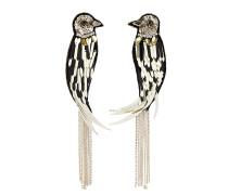 Ohrringe mit Kanarienvogel
