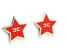 Sternenohrringe mit Logo