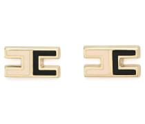 Ohrringe mit Logo, zweifarbig