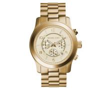 Gold Tone Uhr MK8077
