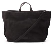 Shabbies Grain Leather Black Handtasche 2420200010001-L
