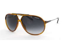 Sonnenbrille Transparant Orange/Matte Black