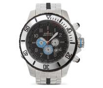 Metal Chrono Black Dial  Uhr SBC--004