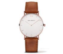Sailor Line Rose Gold/Black Sea Leather Uhr PH-SA-R-ST-W-1S
