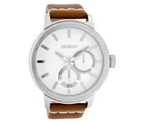 Timepieces Braun/Weiß Uhr C8291 ( mm)