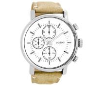 Timepieces Kamel/Weiß Uhr C8565