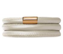 Jennifer Lopez Collection Creme Metallic Armband 1055-57