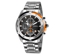 Ground Edge Chrono Orange Uhr TW1431
