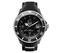 Ice-Sporty Black/White Big Uhr SR.3H.BKW.BB.S.15