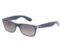New Wayfarer Sonnenbrille Top Matte Blue on Trasparent RB2132 605371