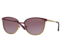 Matte Violet Brushed Gold Sonnenbrille VO4002S994S8H