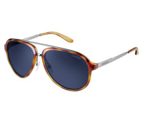 Sonnenbrille Havana Ruthenium/Blue Avio 96/S