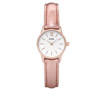 La Vedette Metallic Rose gold/White Uhr CL50020