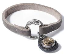 Petite Grey Chunk Armband WPMS-9080-93-S