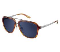 Sonnenbrille Havana Ruthenium/Blue Avio 97/S