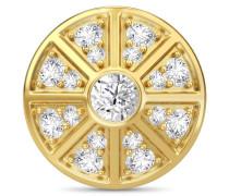Jennifer Lopez Collection White Night Sky Gold Charm 1640