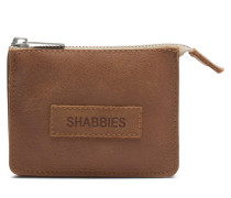 Shabbies Buffed Leather Taupe Brieftasche 3210200013029