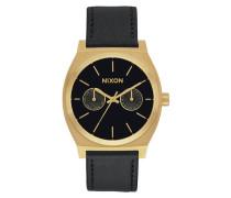 The Medium Time Teller Gold/Black Sunray Uhr A927-1604