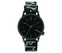 Winston Rune Black Uhr KOM-W2160