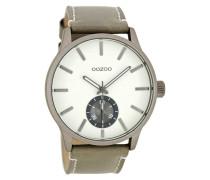 Timepieces Taupe/Weiß Uhr C8215 ( mm)
