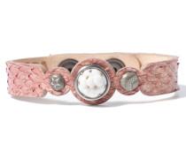 Petite Pink Salmon Armband WPCS-9090-98-M