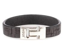 Herren Armband Black 24538-BRA-BLACK-M (20.30 cm)