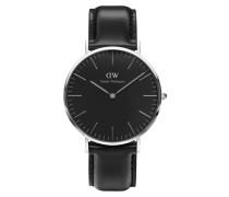 Classic Black Sheffield Uhr ( MM) DW00100133