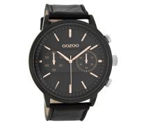 Timepieces Schwarz/Roségold Uhr C8268 ( mm)