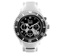 Ice-Sporty Chrono White/Black Uhr SR.CH.WBK.BB.S.15