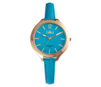 Summer Coral Blue/Gold Uhr SU-08
