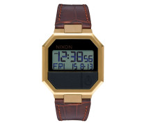 Re-Run Leather Gold Uhr A944849