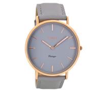 Vintage Grau Uhr C8130 ( mm)