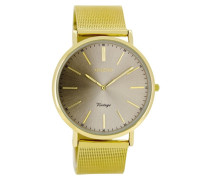 Vintage Gold/Grau Uhr C8162