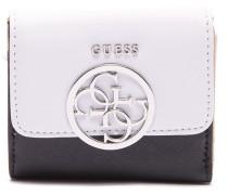 Kamryn Black White Brieftasche SWVY66-91440-WML