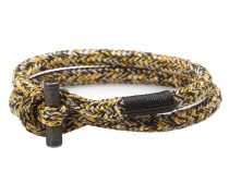Tiny Ted Yellow/Black/Silver Armband P06-30905