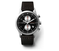 Raven Lansen Chrono Black Uhr LCST114SC010112